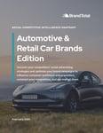 Social Competitive Intelligence Snapshot (Feb. 2021) - Automotive Edition