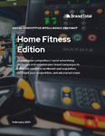 Social Competitive Intelligence Snapshot (Feb. 2021) - Home Fitness Edition